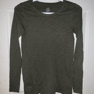 Aerie green real soft tee